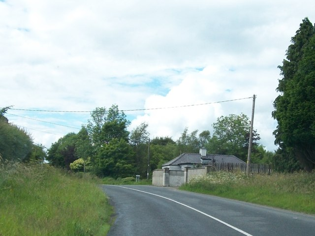 Former lodge at Baltrasna on the R164