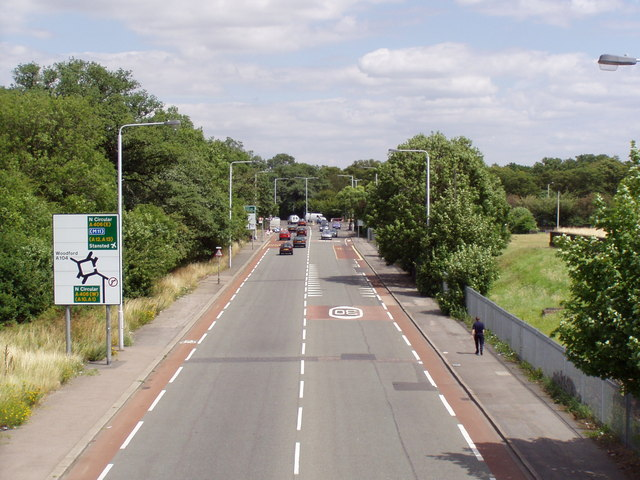 Forest Road (A503) Walthamstow [Looking East]
