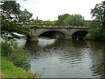 SK3536 : St Mary's Bridge by Graham Hogg