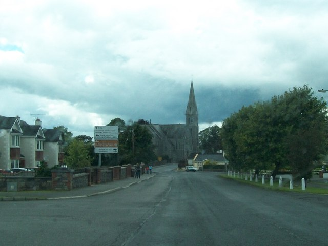 Oldcastle's Catholic Church from the Kells Road