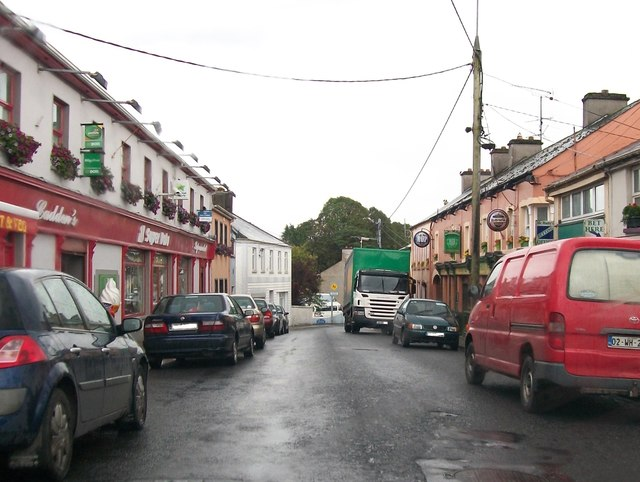 Shops in The Square, Oldcastle