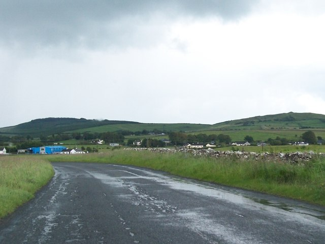 The R154 south-east of Oldcastle