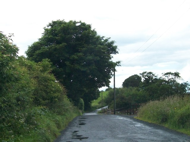 Minor road linking the R154 and Loughcrew