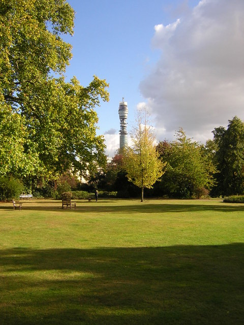 Park Square Gardens, north of Marylebone Road, London