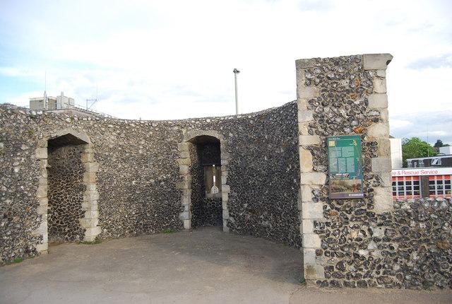 Tower, City walls