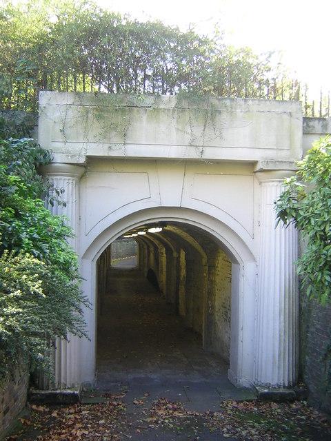 Tunnel under Marylebone Road