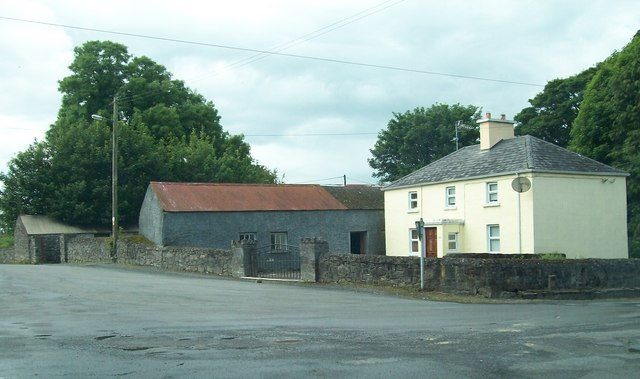 Farm house at Drumone Cross Roads
