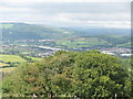 ST1785 : View north from Cefn Onn by John Light