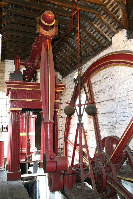Blists Hill Victorian Town Museum - beam engine.