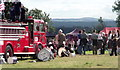 NO1643 : Fire engine, Blairgowrie Highland Gathering by nick macneill