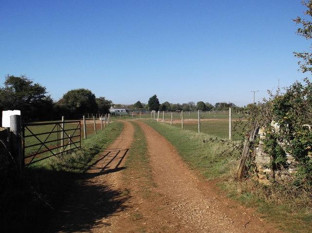 Track to Asthall Farm