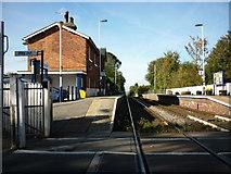 NZ5315 : Nunthorpe train station by Ian S