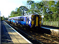 NS5561 : Pollokshaws West railway station by Thomas Nugent