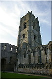 SE2768 : Fountains Abbey, Tower by Alexander P Kapp