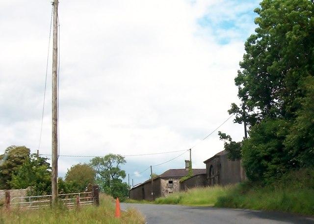Farm buildings at Newtown