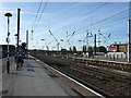 SE5703 : Railway heading south from Doncaster Railway Station by JThomas