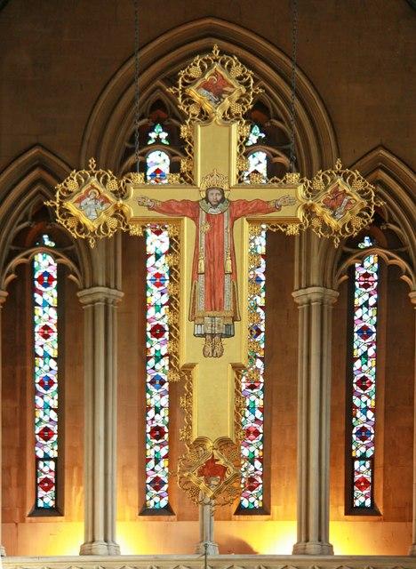 St Mary, Cadogan Street, London SW3 - Christus Rex