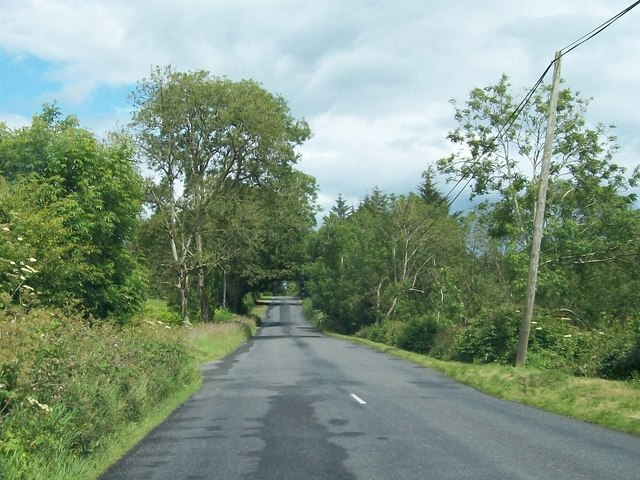 Minor road between Newtown and Corstown