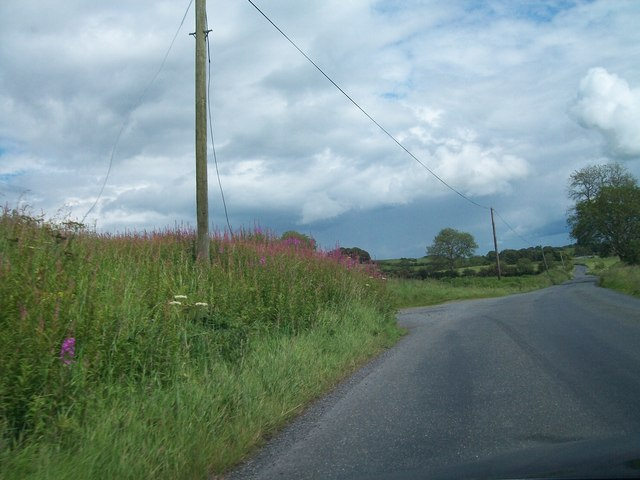 Rural road west of Patrickstown