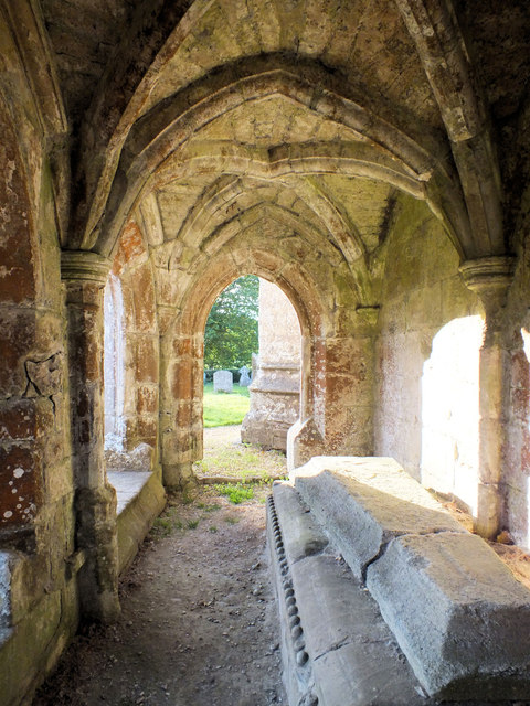 Church of St John the Baptist- vault interior