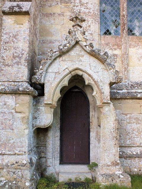Church of St John the Baptist- priest's door