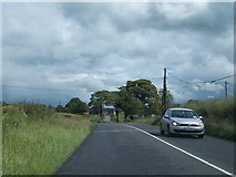 N6675 : Approaching a sharp bend in the R163 at Boherboy by Eric Jones