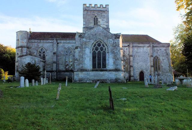 Church of St John the Baptist- north elevation
