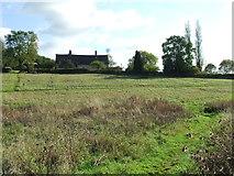 TL7448 : Hundon Thicks Farm by Keith Evans