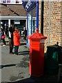SY6990 : Penfold pillar box, South Walks Road, Dorchester by Brian Robert Marshall