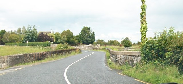 The Moynalty Road Bridge over the Blackwater River