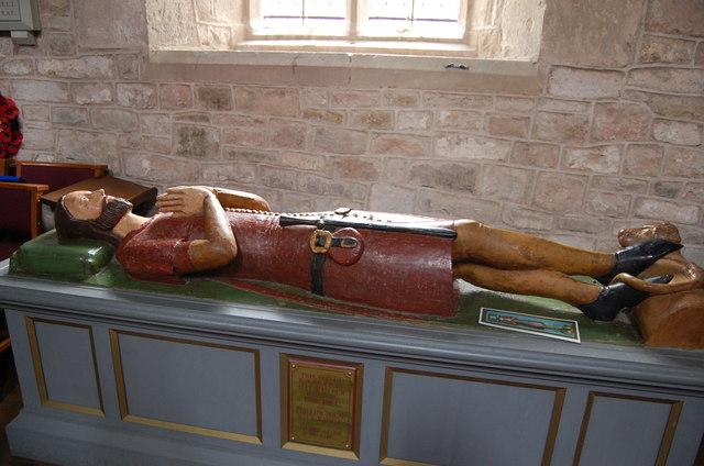 Effigy of Walter De Helyon, Much Marcle Church