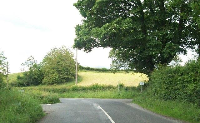 Corrakeeran Cross Roads on the R164 (Moynalty/Kingscourt) Road