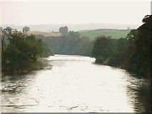 NY5046 : The River Eden downstream of Armathwaite Bridge by Mike Quinn