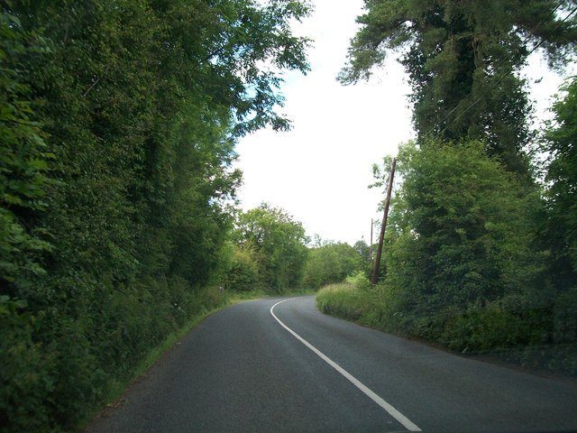 The R164 between Carnacally and Carrickleck Cross Roads