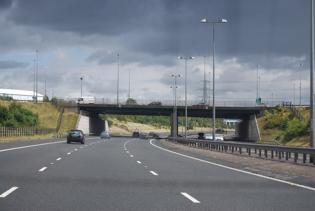 Junction T7, M6 (Toll)