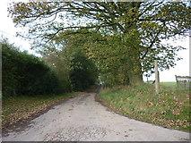 SE6691 : Sleights Road off Westside Road by Ian S