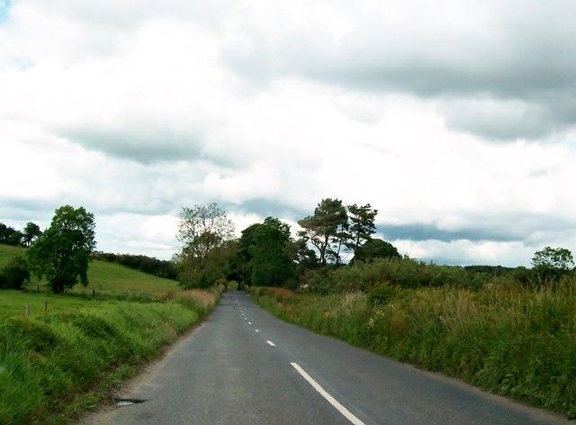 The R164 between Kilfinnan and Corcarra