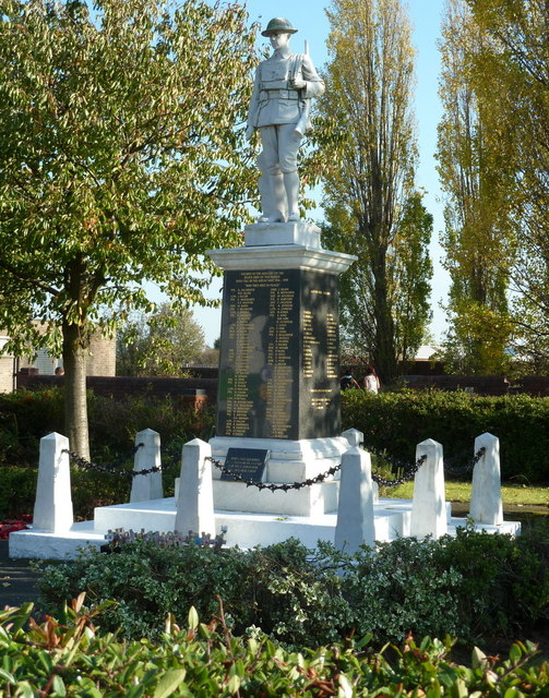 War memorial, Creswell