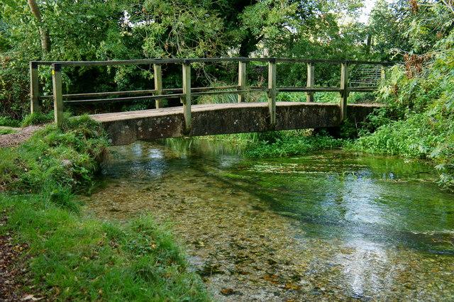 Bridge Across the River Itchen, Hampshire