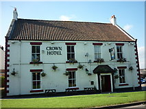 NZ4310 : The Crown Hotel, Kirklevington by Ian S