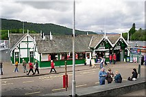 SD4096 : Coffee shop and ticket office, Bowness pier by Rose and Trev Clough