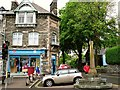 NY3704 : Post Office and market cross, Ambleside by Rose and Trev Clough