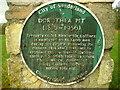 NZ3352 : Memorial plaque, Philadelphia by Antony Dixon