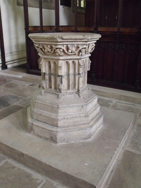 Font St James Church Louth 169 J Hannan Briggs Geograph