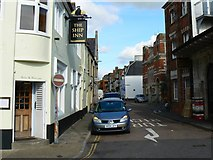 SY6778 : North along Maiden Street, Weymouth by Brian Robert Marshall