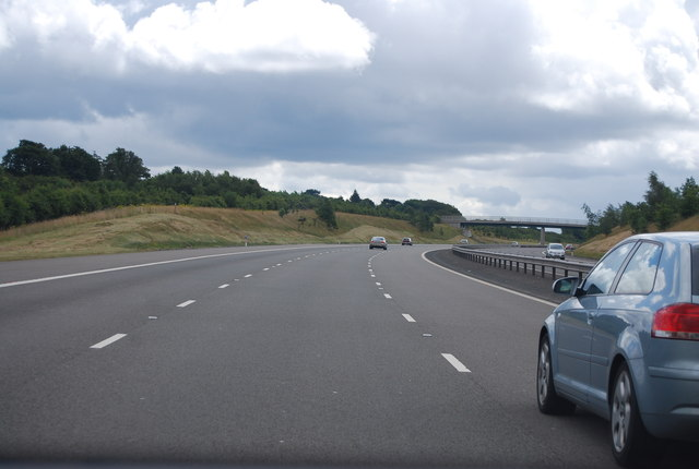 M6 (Toll), heading south