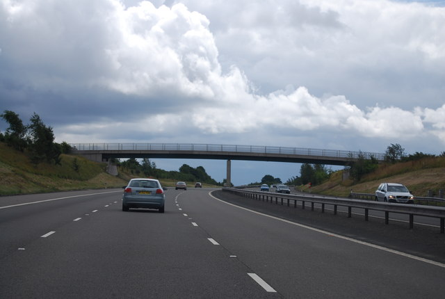 Footbridge, M6 (Toll)