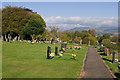 SO5275 : Ludlow Cemetery by Ian Capper