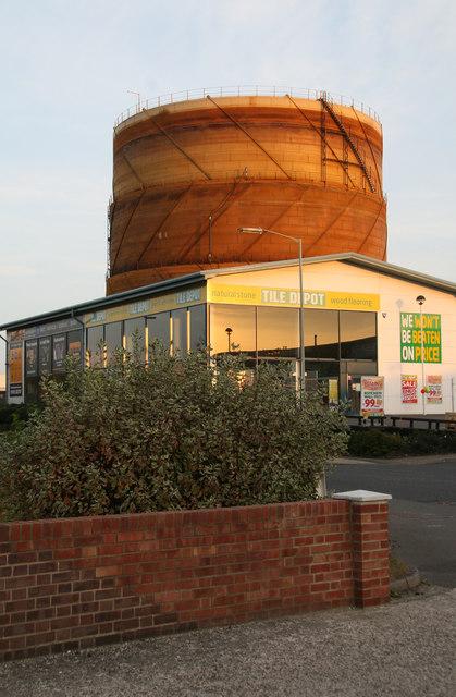 Gas holder - Newbury