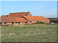 SK6431 : Barns at Hill Farm by Alan Murray-Rust